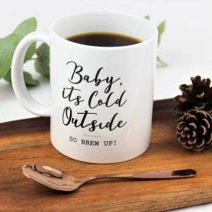 Personalised baby it's cold outside