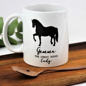 Personalised crazy horse lady