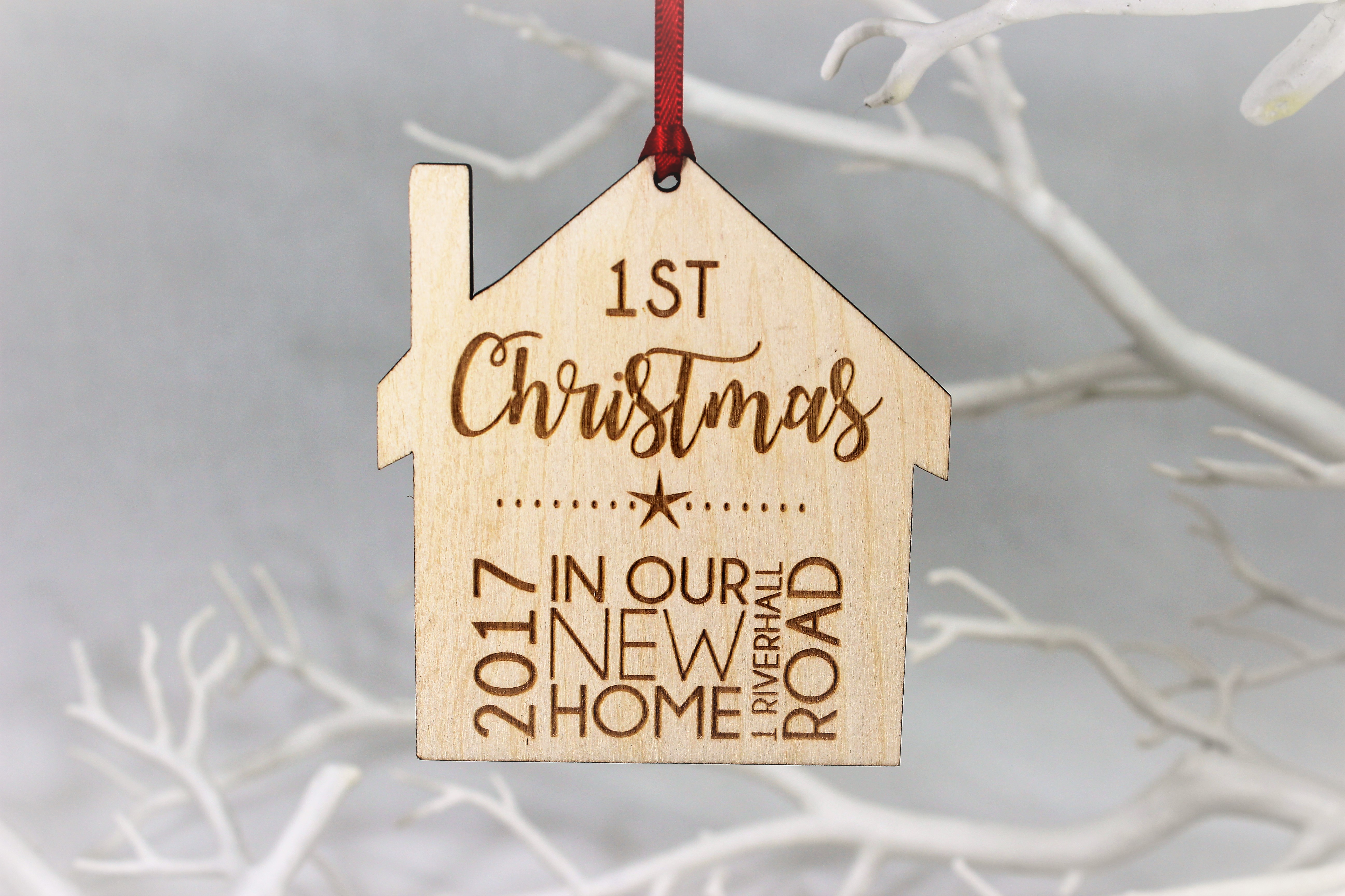 Personalised 1st Christmas in new home