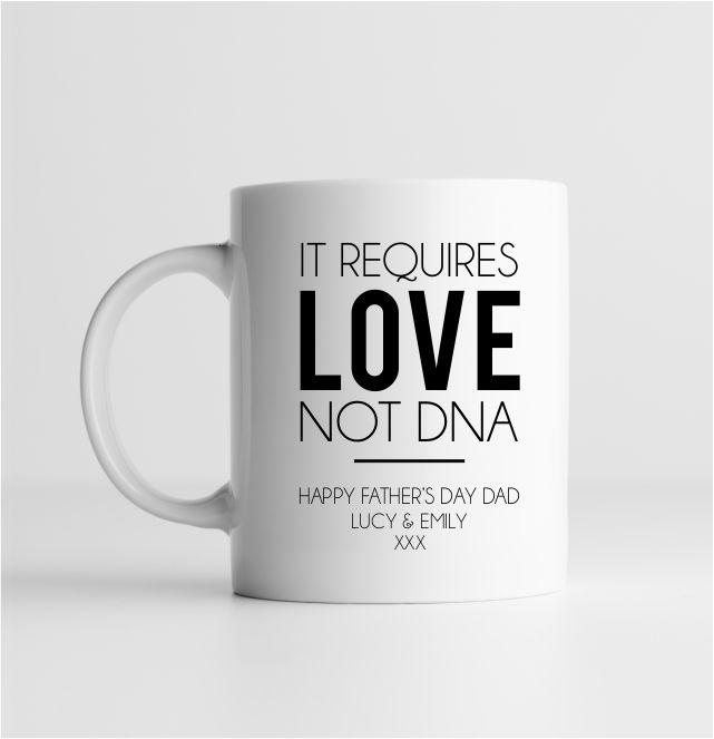 It requires love not DNA