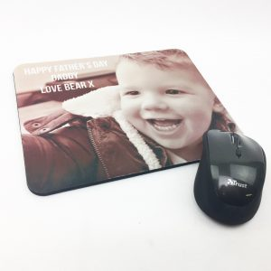 Personalised picture mouse mat