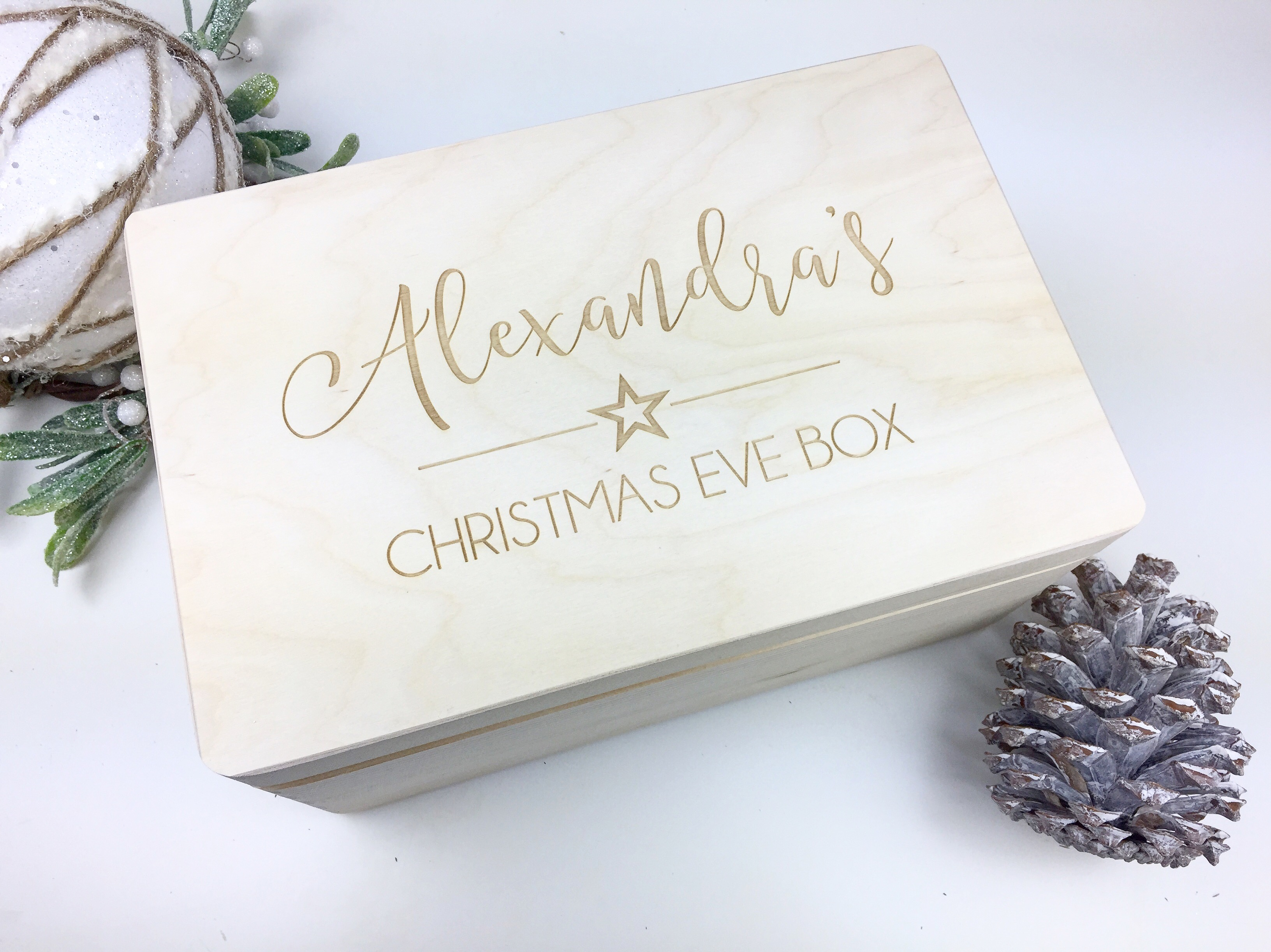 Xmas box with IMPEFECTIONS