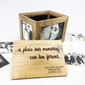 Wedding photo box