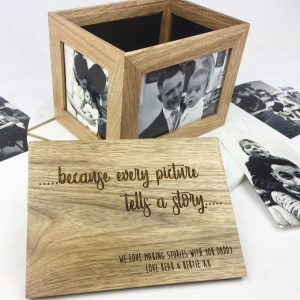 Wooden Photo Box