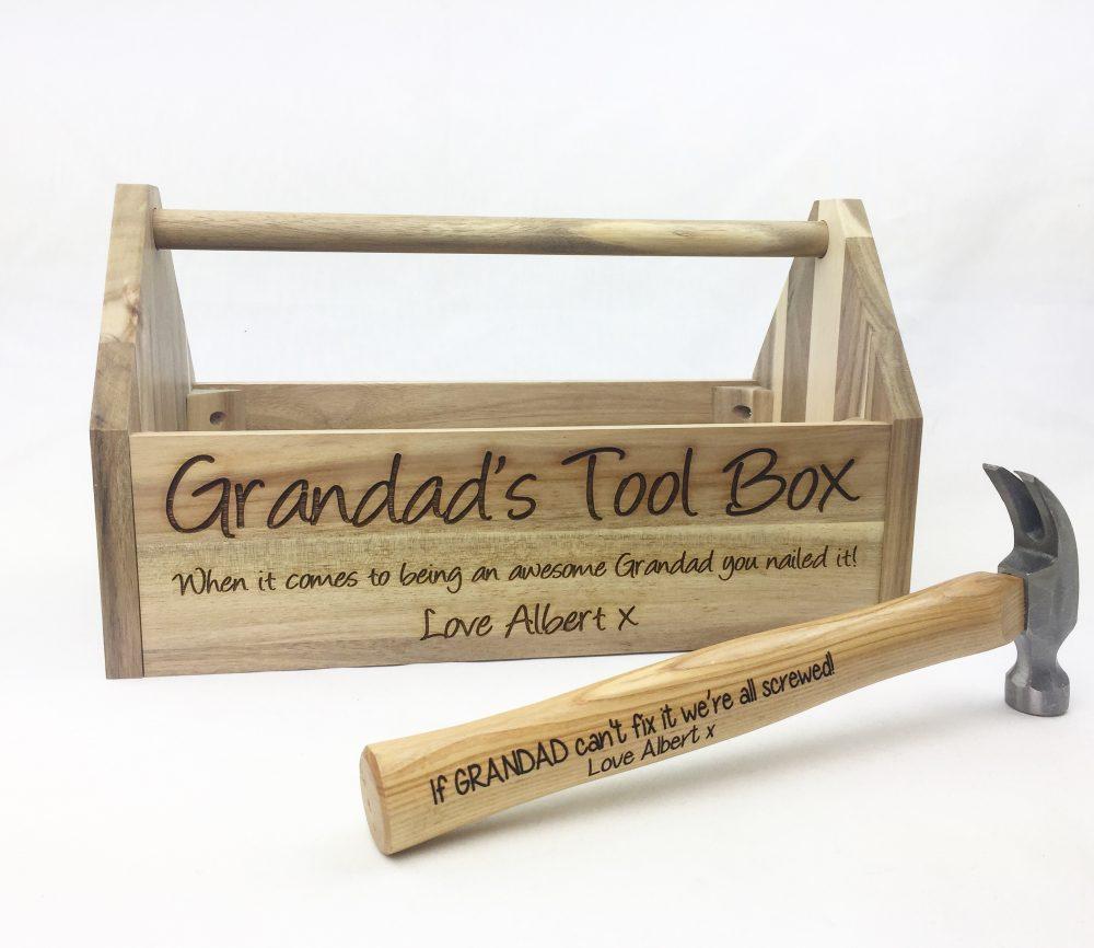 Grandad's tool box