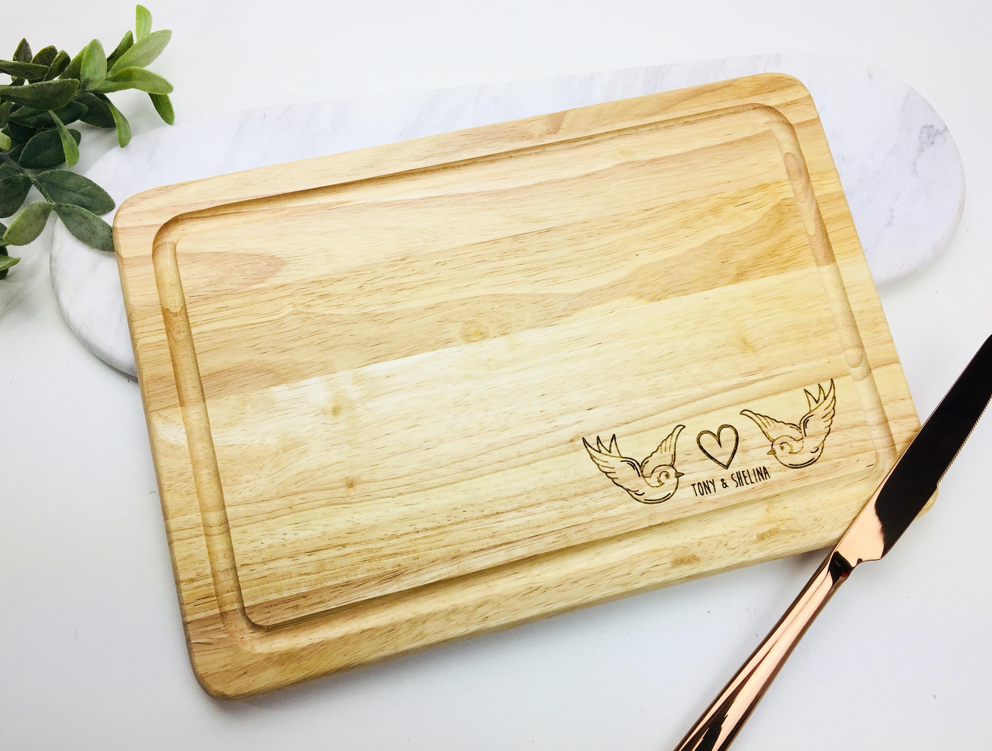 Swallow bird chopping board