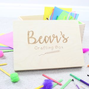 Personalised crafting box