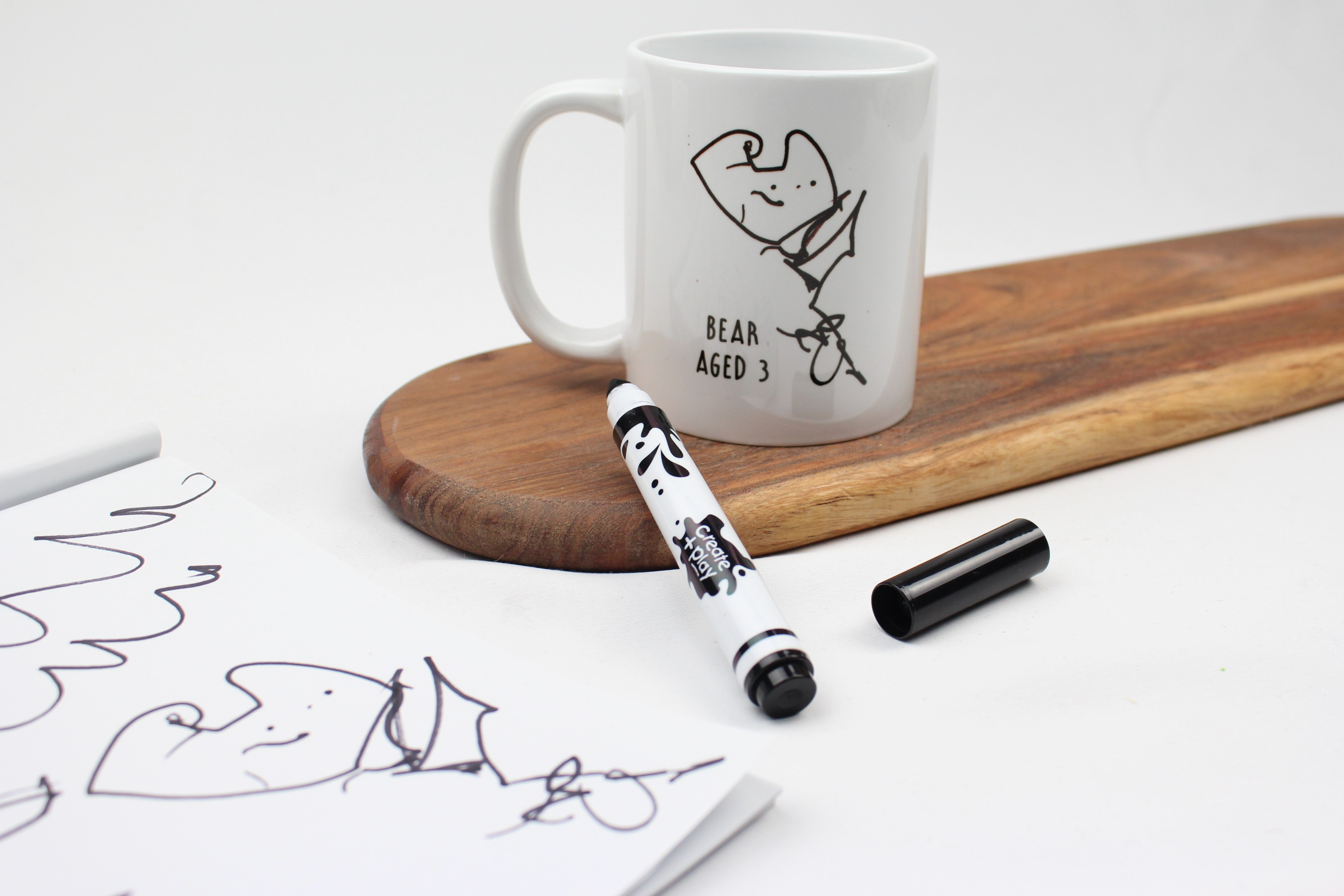 Draw me a pricture personalised mug