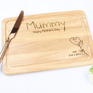Draw me a picture chopping board