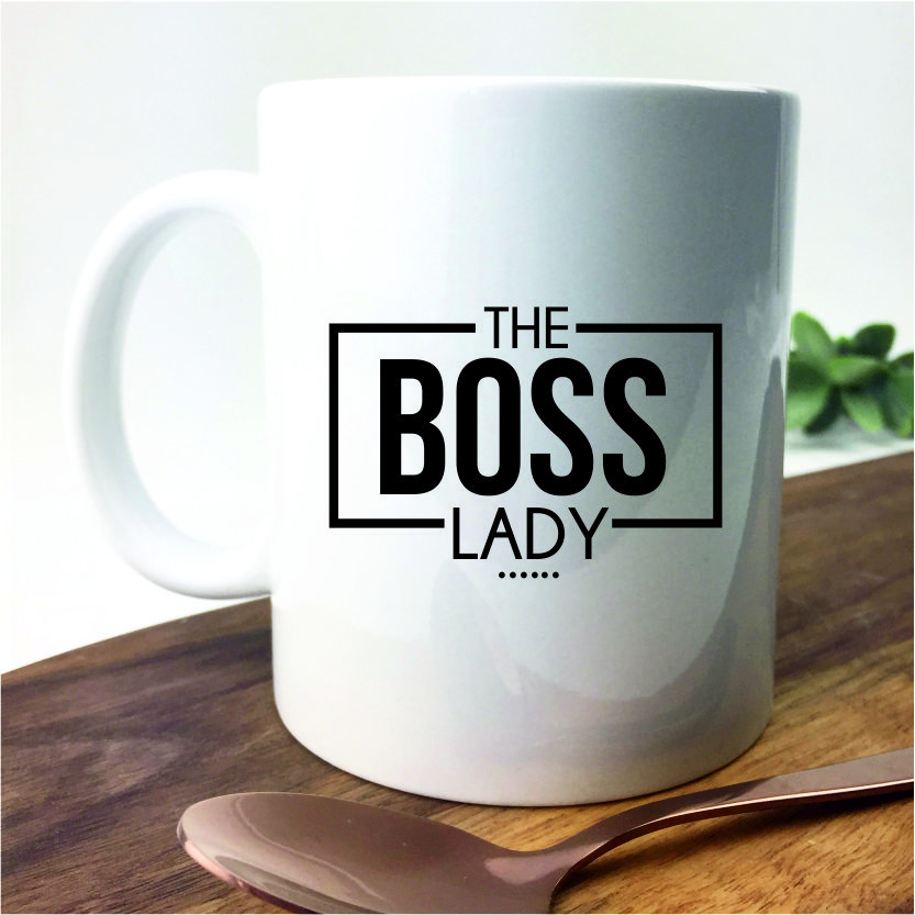 The Boss Lady Mug