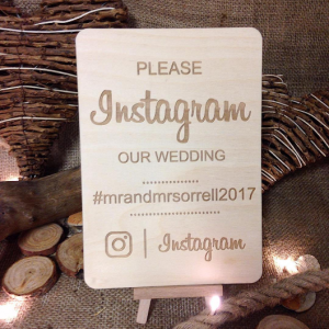 Instagram, Vintage Sings, Rustic Signs, Wedding Signs, Instagram signs, social media frame, instagram plaque,