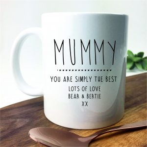 Mummy personalised mug