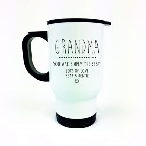 Personalised Grandparent travel mug