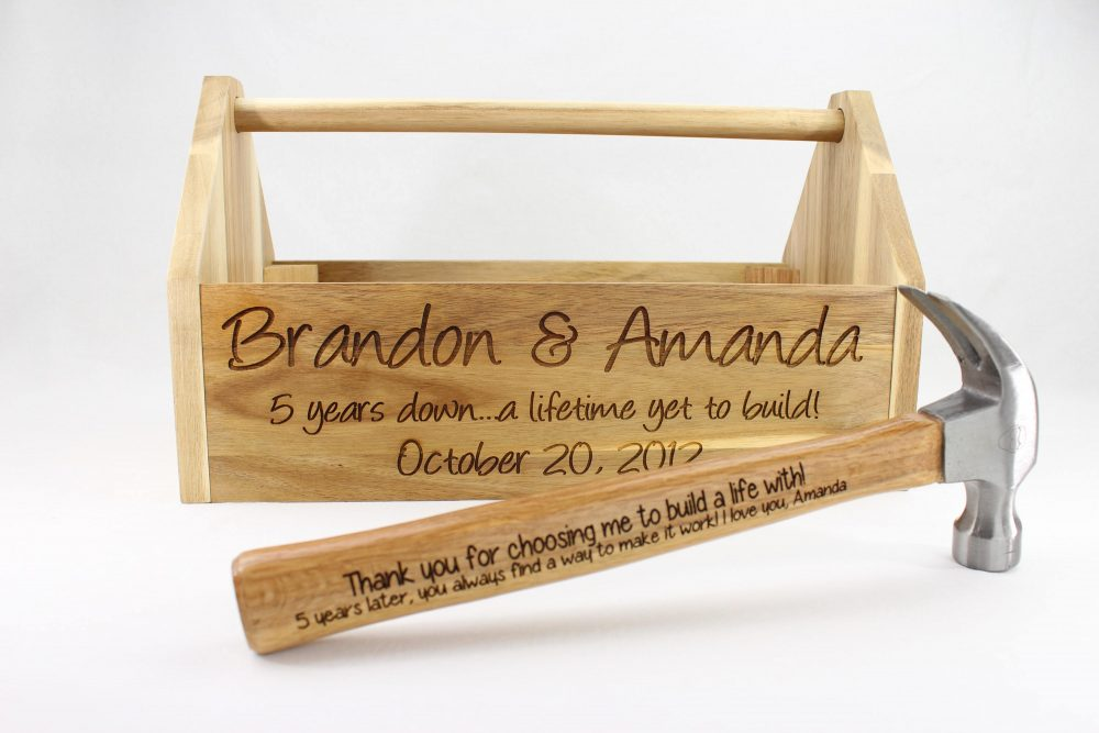 5th wooden anniversary gift